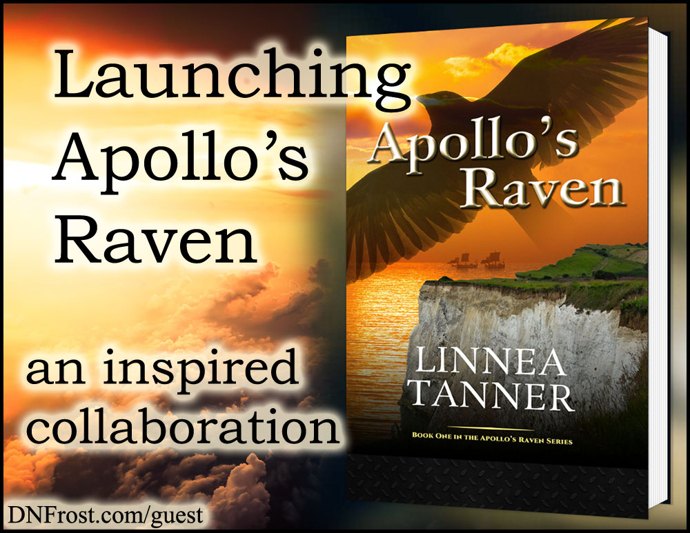 Launching Apollo's Raven: support for her new book http://www.dnfrost.com/2017/03/launching-apollos-raven-inspired.html An inspired collaboration by D.N.Frost @DNFrost13 Part 6 of a series.