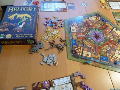 Belfort game in play