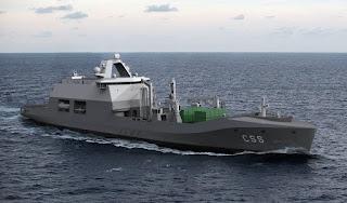 Desain HNLMS Den Helder AL Belanda