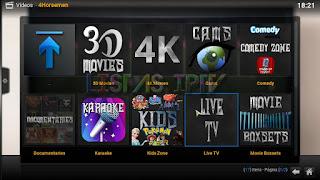 """Como Instalar o Add-on """"4Horsemen"""" no Kodi 17 - Melhor add-on para Filmes 4K e em 3D no Kodi"""