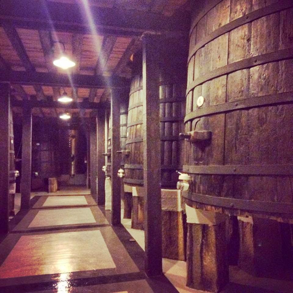 Foto de la Nave de las tinas. Una de las más antiguas de La Rioja Alta. Haro | Caravaneros.com