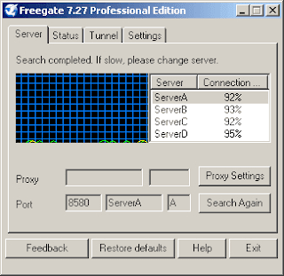 تحميل برنامج Freegate لتصفح امن بدون رقابة