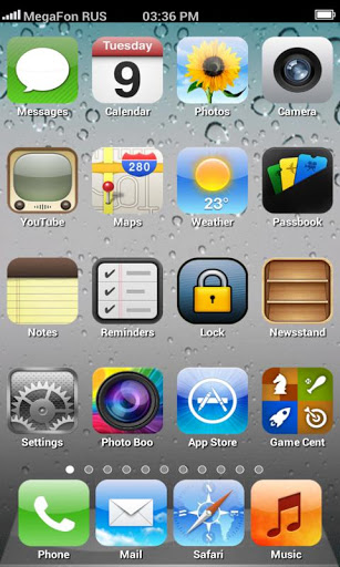 Thai Android apps advisor: Fake iPhone 5 Launcher เปลี่ยน