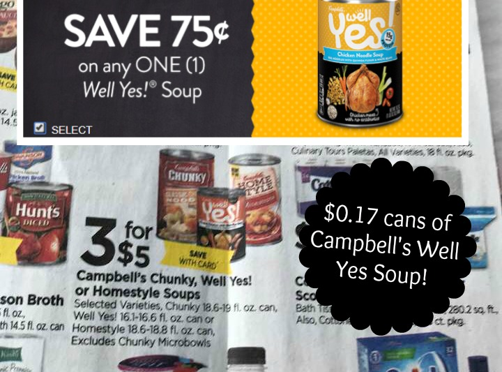 photograph regarding Campbell Soup Printable Coupon named Campbells Properly Of course Soups: Fresh $0.75/1 printable coupon