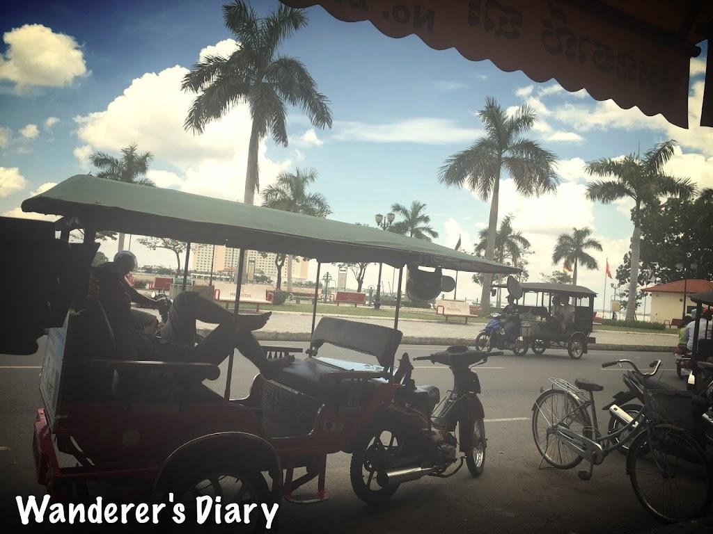 tuk tuk in Phnom Penhn, Cambodia