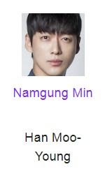 Namgung Min Pemeran Han Moo-Young