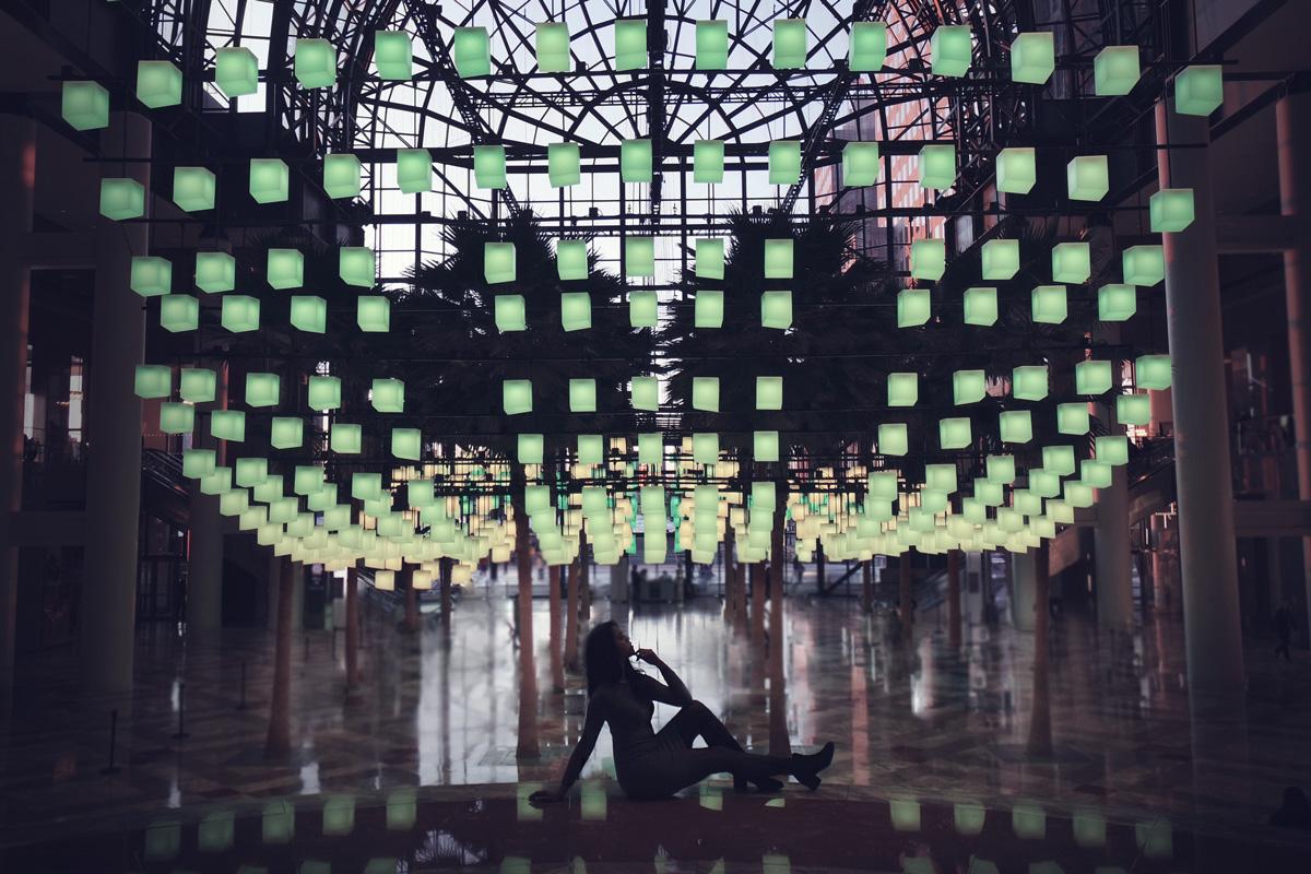 judy c yang luminaries brookfield place new york display