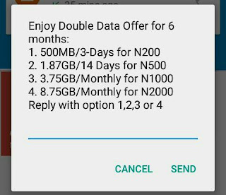 Airtel Double Data Offer For 6months Reloaded