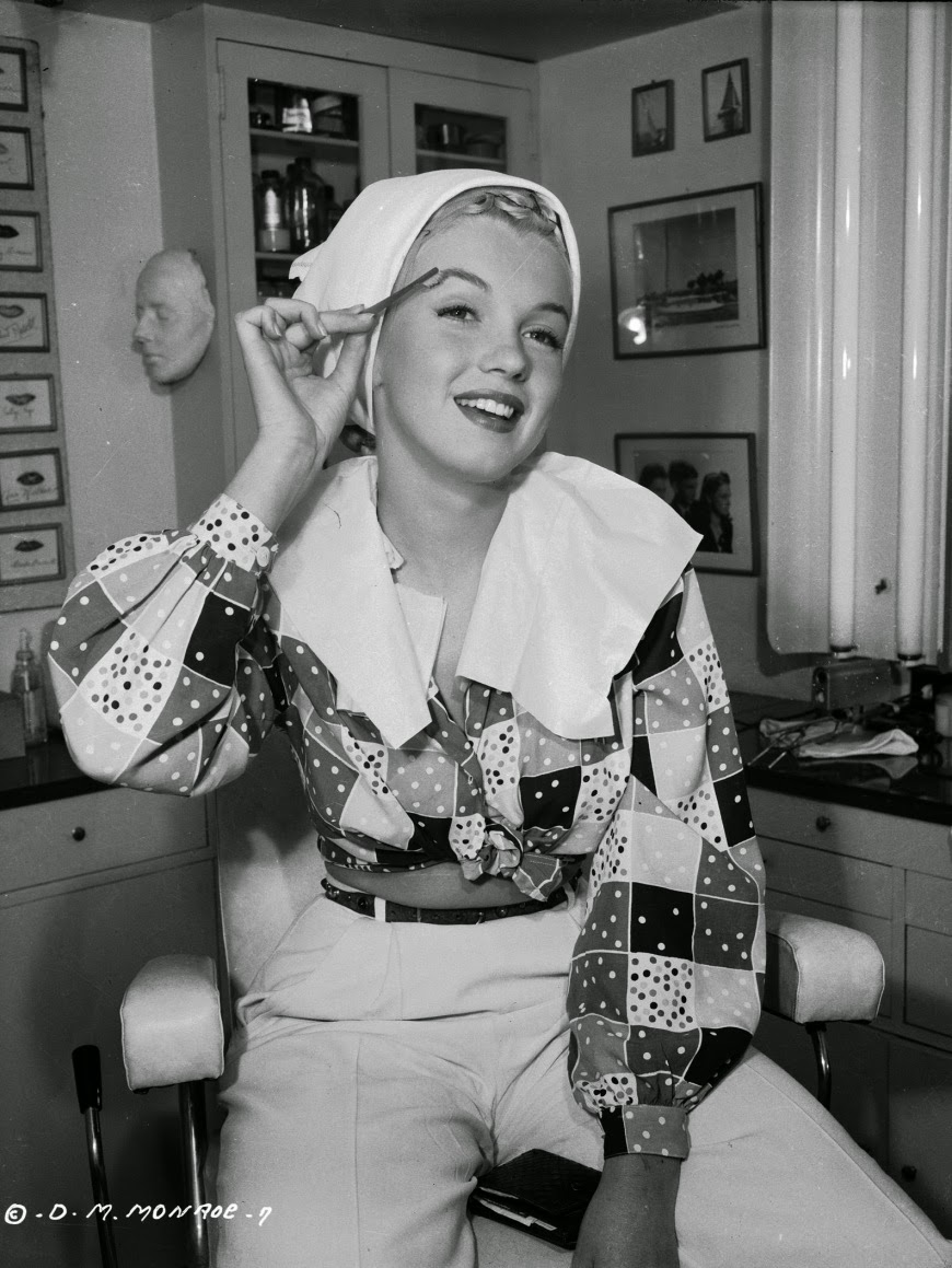 Marilyn Monroe Pictures Tumblr Marilyn Monroe making ...