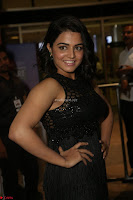 Wamiqa Gabbi in a sleeveless Black Designer Transparent Gown at 64th Jio Filmfare Awards South ~  Exclusive 127.JPG