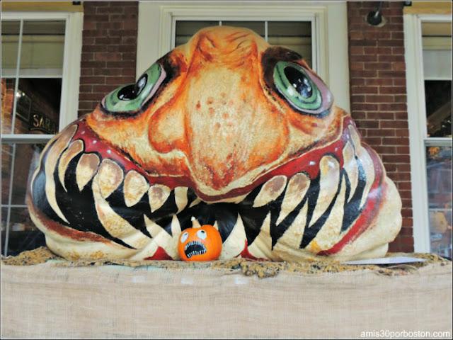 Calabazas Decoradas para Halloween: Monstruo