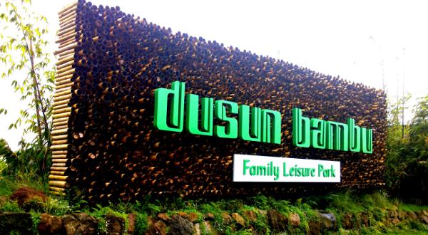 iket Masuk Dusun Bambu Lembang