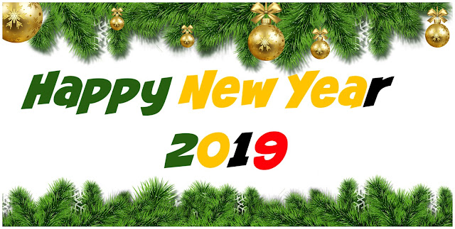 Happy New Year 2019 cover twitter