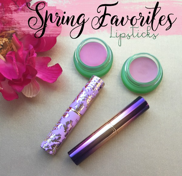 Spring Favorites-Lipsticks