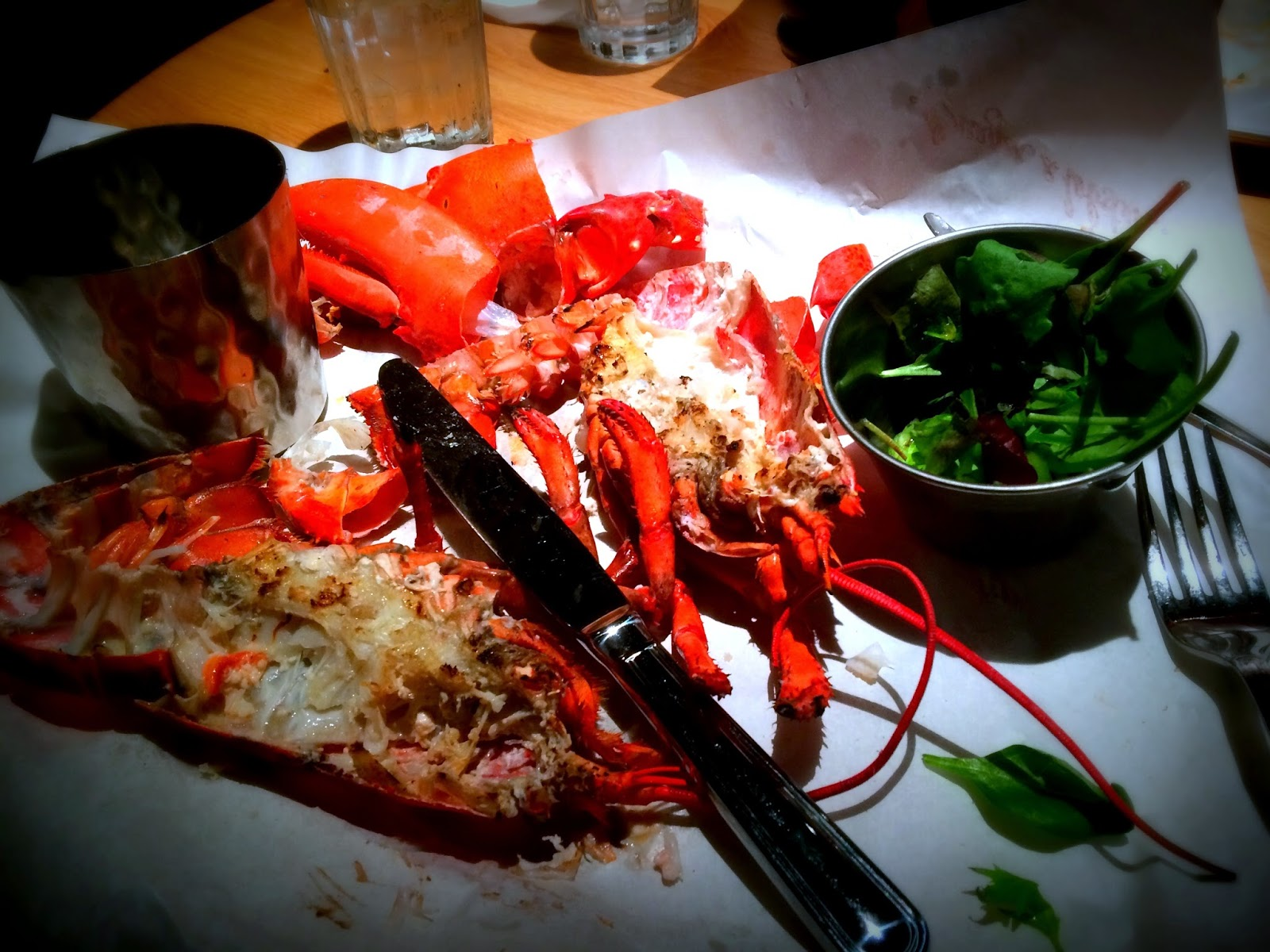 Lobster at Burger & Lobster, Burger & Lobster Cardiff, St Davids II, Restaurants in Cardiff, Seafood in Cardiff
