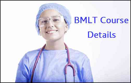 BMLT Course Details Hindi