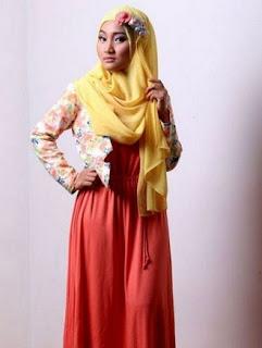19 Gaya Hijab Dan Baju Muslim Modern Ala Fatin Shidqia Lubis