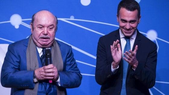 Luigi Di Maio e LIno Banfi