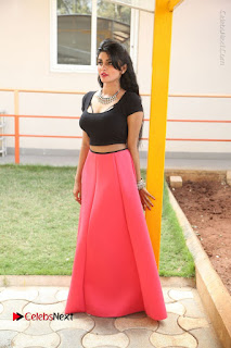 Telugu Actress Harini Stills at Dhyavudaa Movie Teaser Launch  0370.JPG
