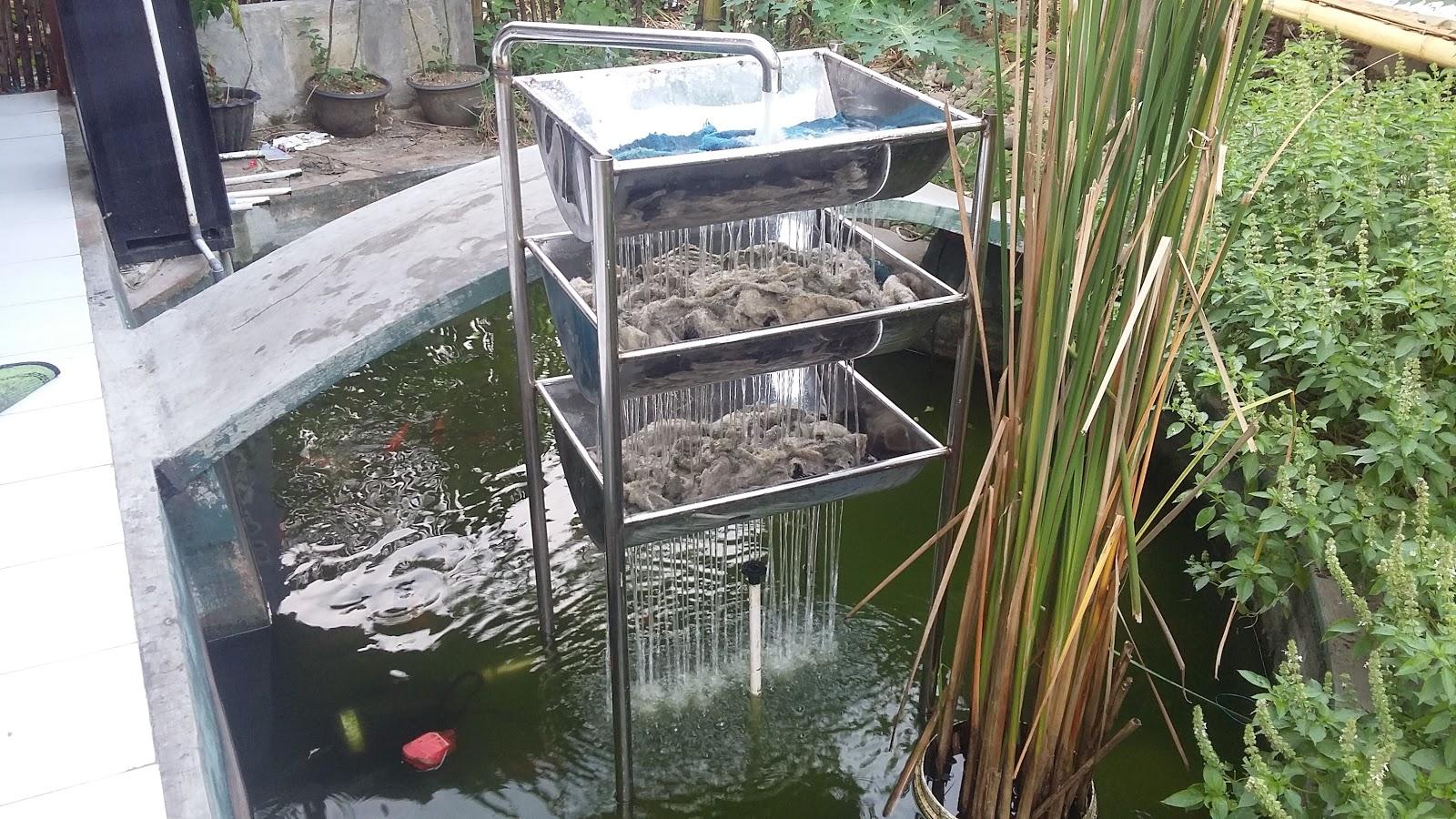 Filter ikan koi: FILTER IKAN KOI BAKI SHOWER HOME MADE ...