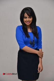 Actress Nandita Swetha Stills in Black Mini Skirt at Ekkadiki Potavu Chinnavada Movie Special Show  0046.JPG