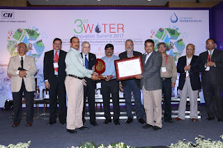 Toyota Kirloskar Motor (TKM) honored for its excellence in Water Management