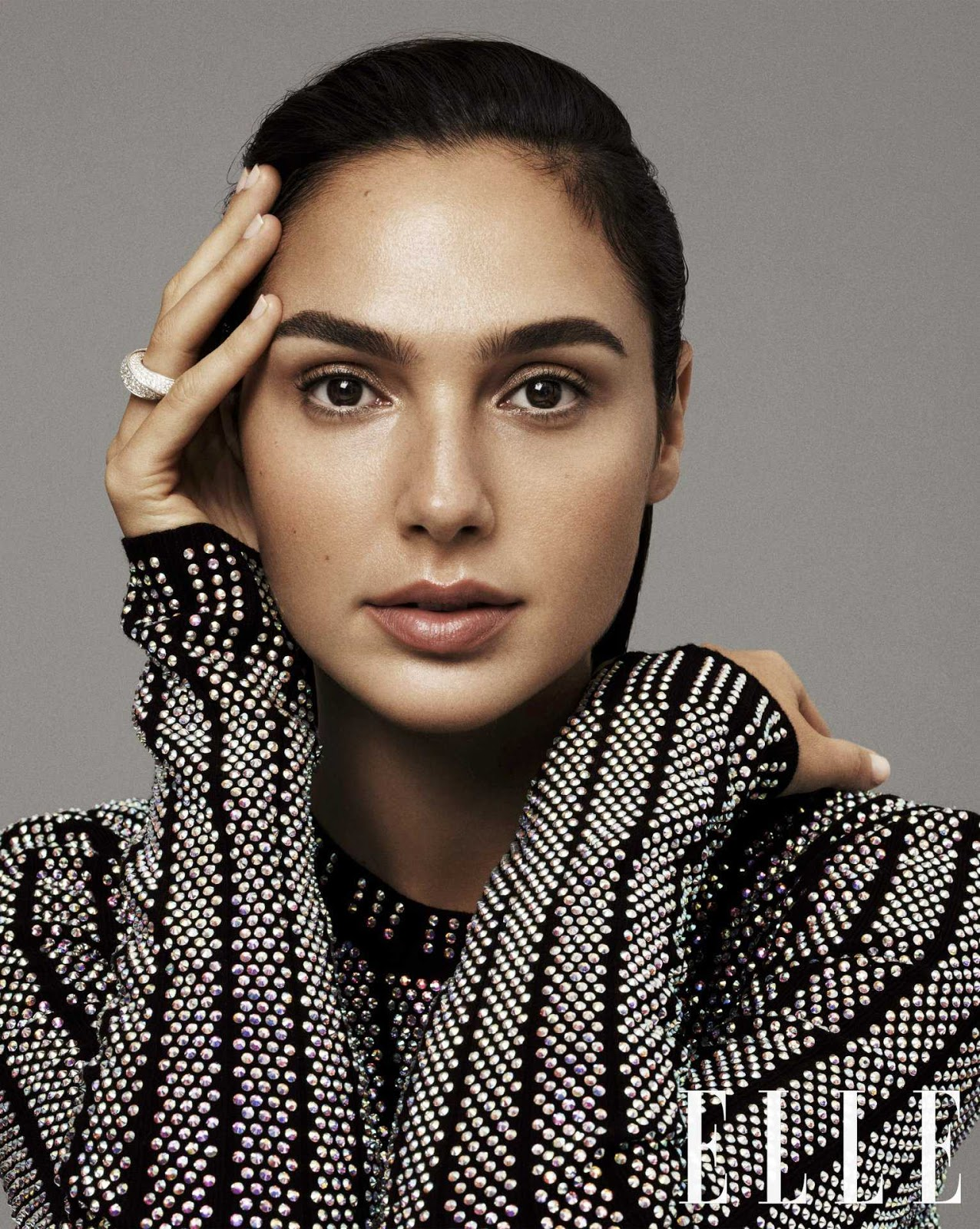 Gal Gadot in Elle Magazine Photoshoot December 2017