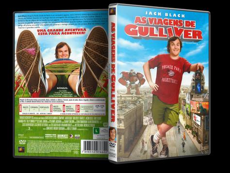 Capa DVD As Viagens de Gulliver (Oficial)
