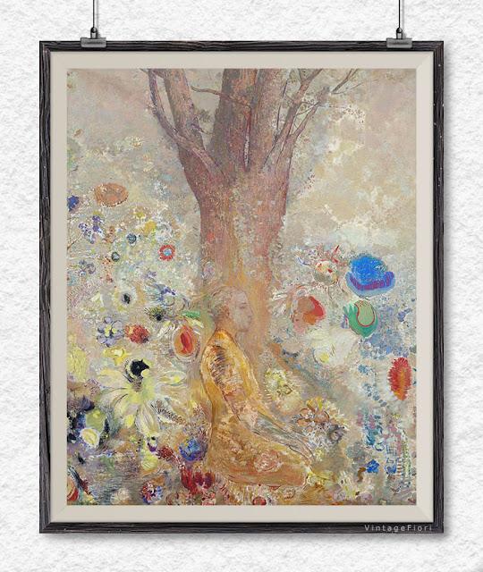 Buddha wall art, Buddha painting fine art print - Etsy