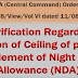 Night Duty Allowance : PCDA clarification regarding fixation of ceiling of pay for entitlement