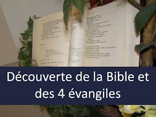 la bible les evangiles