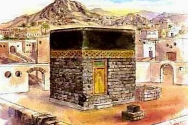 Rasulullah Menghapus Lukisan dan Gambar Dalam Ka'bah Saat Fatkhu Makkah