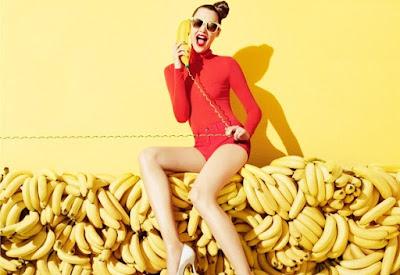 Hidratação para os cabelos usando Banana