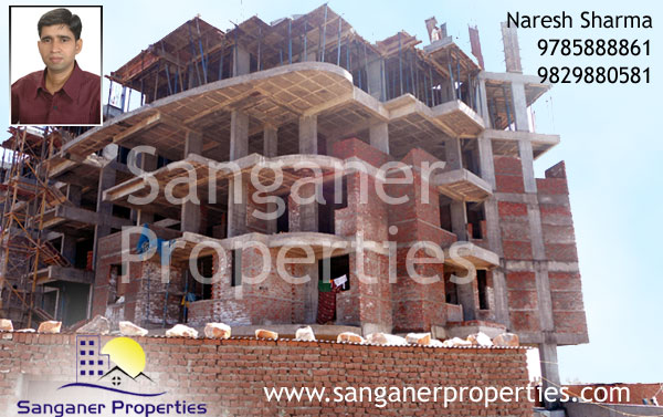 2 BHK Flats near Haldighati Road in Sanganer