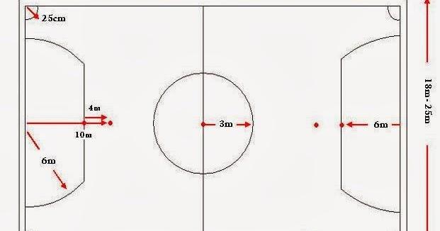 Gambar Lapangan Futsal Vector