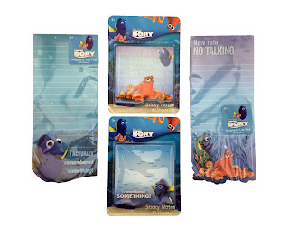 finding dory list pad sticky notes
