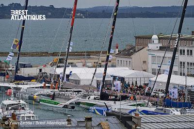 Le départ de Brest Atlantiques en suspens
