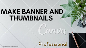 Make logo, banner, thumbnails, template and stories in 5 minutes