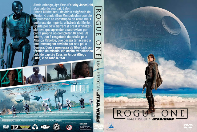 Capa DVD Rogue One Uma História Star Wars [Exclusiva]