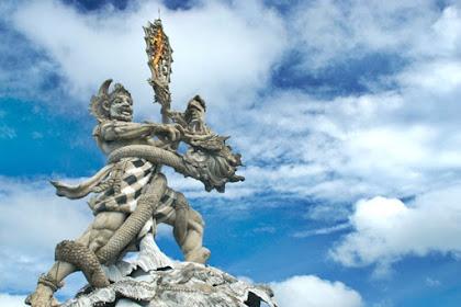 Kisah dibalik Patung Dewa Ruci di Simpang Siur