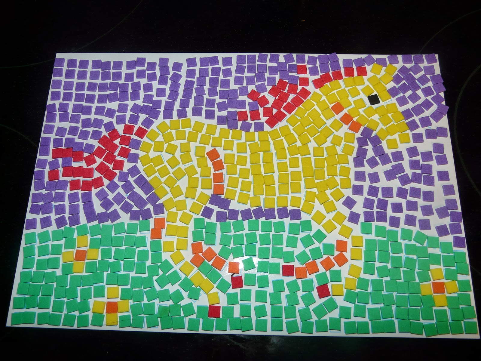 The gallery for simple mosaic patterns for kids for Roman mosaic templates for kids