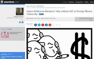 Why Nations Fail Robinson Acemoglu GMU economics history