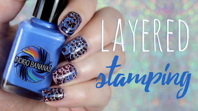 Layered Stamping | Featuring the CALM box + Lemming Lacquer