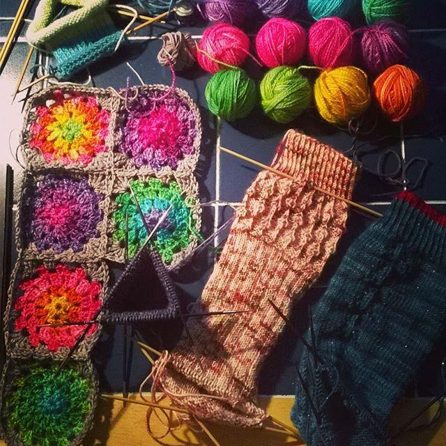 Knitting Expat Sock Club : The new roo