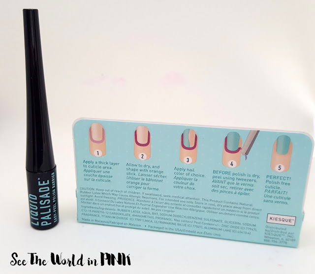 Kiesque Liquid Palisade Easy-Peel Off Polish Barrier Review