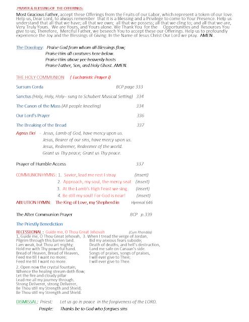 St  Philip The Apostle Anglican Church: Worship Bulletins