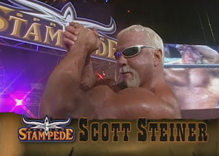 WCW Spring Stampede 1999 - Scott Steiner faced Booker T for the US title