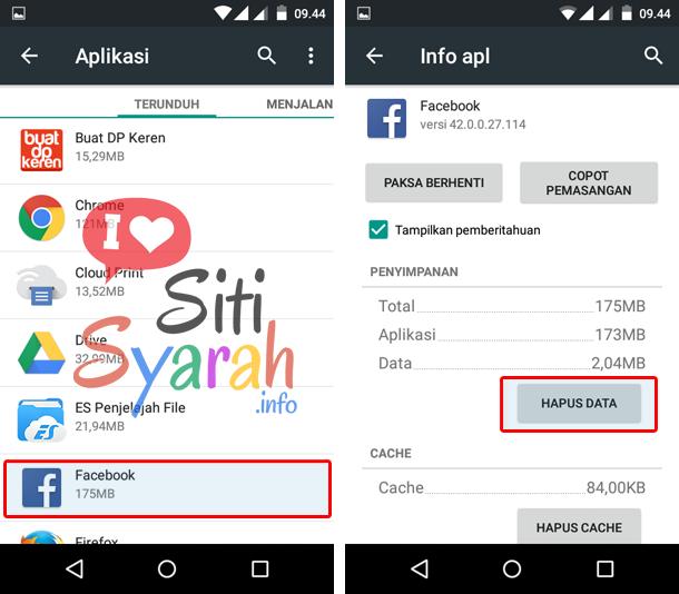 solusi facebook lemot di Android