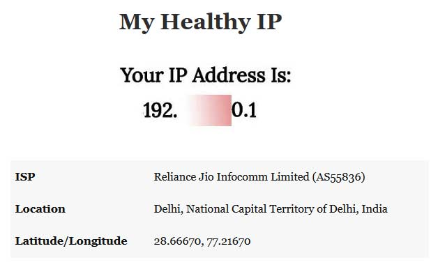 how to find ip address in computer or mobiles in hindi