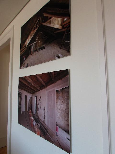 fotos de uma obra de restauração do apartamento